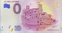 BILLET 0  EURO LE VIEIL ANTIBES FRANCE  2019  N° PALINDROME 232