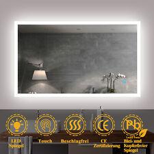 Badezimmerspiegel mit Beleuchtung 50 - 120 cm Touch Heizung Kaltweiß Led Spiegel
