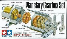 TAMIYA EDUCATIONAL PLANETARY GEARBOX SET  ART 72001