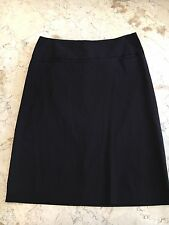 Brand New CUE Classic Pin Stripe Office Work Skirt Size 8 Stretch Fabric