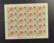 US SCOTT 4334 PANE OF 20 OLYMPIC GYMNASTICS STAMPS 42 CENT FACE MNH
