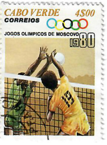 Cape Verde - 1980 Olympic Games - Moscow, USSR