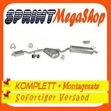 Auspuff Fiat Marea 1,9 TD STD / 2,4 TD 1996-2001 Stufenheck Kombi 0221