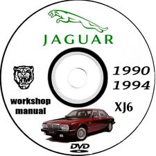 Workshop Manual + Sapre Parts Jaguar Xj6 1990/1994