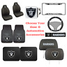 NFL Oakland Raiders Choose Your Gear Auto Accessories Official Licensed