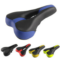 New Mountain Bike Bicycle Cycle MTB Soft Saddle Seat Road Sport Extra Comfort UK