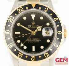 Rolex GMT-Master II 16713 40mm Stainless Steel 18k 750 Gold Watch X Serial