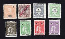 Sao Tome and Principe 1898-1934 8 stamps used/MH