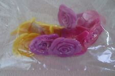 Cupcakes Decorating Toppers Vertical Iridescent Roses 10 Count New