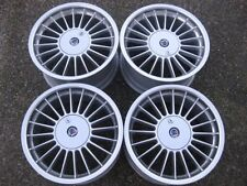 "RARE - STAGGERED 17""ALPINA Softline rims with Lockable caps showrm condition"