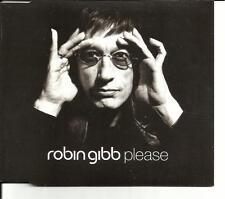 Bee Gees ROBIN GIBB Please w/ 2 UNRELEASED TRX UK CD single SEALED 2002