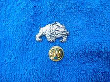 ONCE A MARINE ALWAYS A MARINE SERVICEMEN 1 MARINE Bull Dog With Bone Mascot PIN