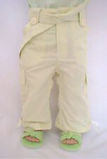 "Sage Green Cargo Pants Fits 18"" American Girl Doll"