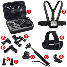 Go Pro Accessories 11-in-1 Bundle Combination Pack Accessories Kit For Action DV