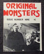 1970's ORIGINAL MONSTERS Magazine #9 FN- Blacula Dracula Christopher Lee