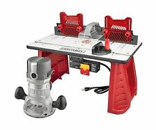 Router Woodworking Table Craftsman Garage Work Shop Precision Tool Wood Combo