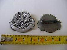Großes Abzeichen -Militärischer Orden-Abzeichen mit Adler  silber an Nadel