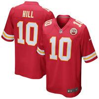 Brand New 2020 NFL Nike Kansas City Chiefs Tyreek Hill #10 Game Edition Jersey