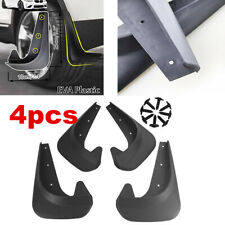 Brand NEW Deluxe Black Molded Splash Guards Mud Flaps 4 pieces Front & Rear
