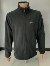 Berghaus Mens Fleece Jacket, Size Large, Black, GC