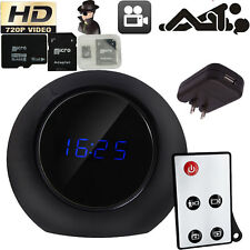 16G Digital HD Mini Pinhole Motion DVR Clock Camera Remote Cam Camcorder Video