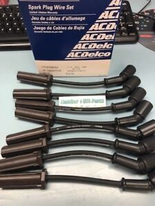 New ACDelco Professional Series Spark Plug Wire Set 19297035 9748UU