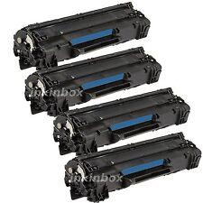 4pk Compatible CE278A 78A Toner Cartridge For LaserJet P1606dn M1536dnf P1566