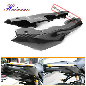 Carbon Fiber Rear Tail Side Seat Cover Cowl Fairing For Yamaha MT09 FZ09 2013-16
