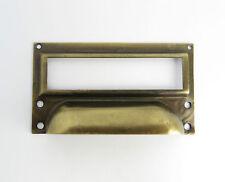 CERNIERA etiketrahmen ottone maniglia per cassetto beschiftung stile liberty