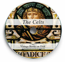 Rare Books on DVD Celtic History Culture Druids Celts Language Folk Lore Myth B7