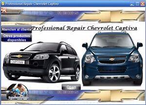 WORKSHOP MANUAL OR REPAIR MANUAL CHEVROLET CAPTIVA / CAPTIVA SPORT 2009 - 2011