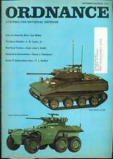 ORDNANCE military Magazine November 1972 Scout Vehicles, Space Shuttle, Vietnam