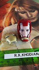 Hot Toys MMS311 Pepper Potts figure's 1/6 head sculpt in Iron Man helmet only