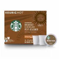 HUGE LOT 300 Starbucks Breakfast Blend K CUPS Medium Roast Coffee BB 10/2019