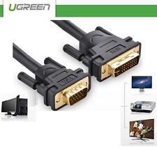 UGREEN DVI (24+5pin) Male to VGA Converter Adapter Cable Lead 1.5/3 Meter