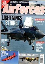 Air Forces Monthly Magazine 2014 July F-35,Pilatus PC-21,Uruguayan PC-21,Su-25
