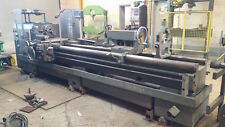"""Engine Lathe, 26 x 120 in.,Digital ROs, 4"""" bore. Hardened, Excellent, installed!"""