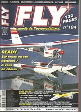 FLY N°184 PLAN : SUPRA'DYN / READY THUNDER TIGER / FUTABA SKYSPORT / REGMAX