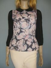 **REVIEW!!! Beautiful Floral Fully Lined Blouse!! 8