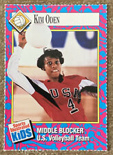 1993 Sports Illustrated For Kids Card Kim Oden US Volleyball Team #141