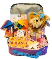JOJO SIWA BOW Bundle Beauty Gift basket W/Carry Storage Lunch Box