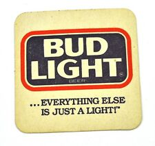 Budweiser Bud Light USA Beer Bier Bierdeckel Untersetzer Coaster sous-bock