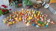 VNTG. LOT RUBBER SQUEAK TOYS LARGE COLLECTION 115 FAMOUS CHARACTERS TREASURES