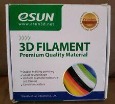 Esun 3D Filament Yellow 3.00mm 1KG (N.W) Brand New Spool 3D Printing
