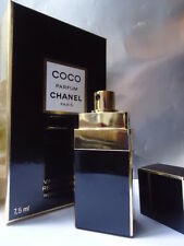 CHANEL COCO PARFUM 1/4oz 7.5ml STUNNING BLACK PURSE SPRAY NEW SEALED Nr MINT BOX