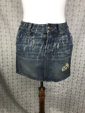 NWT Juicy Couture Raw Hem Kuai Mini Skirt Size 25