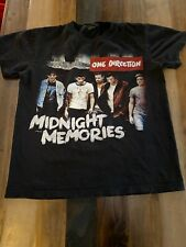 One Direction Midnight Memories Where We Are 2014 Tour Music T-shirt Size Small