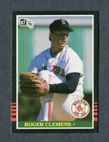 1985 DONRUSS BASEBALL #273 ROGER CLEMENS BOSTON RED SOX ROOKIE MLB PITCHER CARD