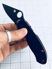 Spyderco Para 3 CUSTOM Red Scales Screws
