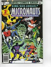 MICRONAUTS ANNUAL #1 (1979) Marvel Comic key auction pj222